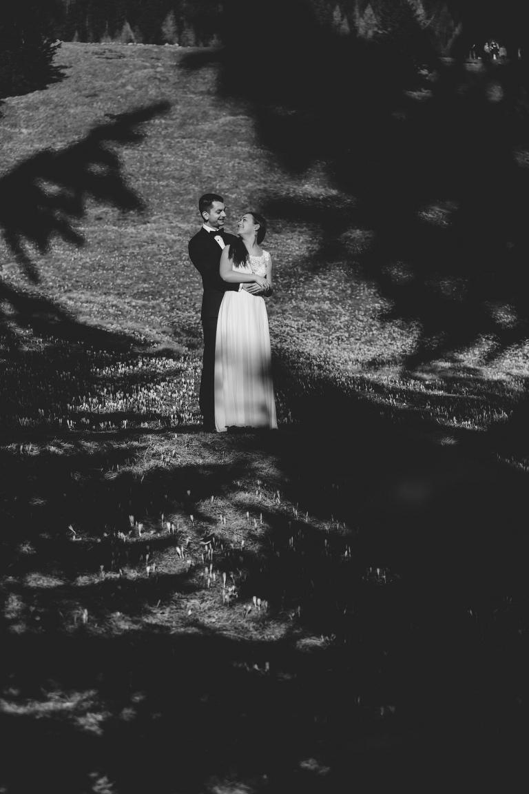 Natalia i Artur 277 krokusy, oryginalny plener ślubny, plener ślubny, sesja ślubna, sesja w tatrach