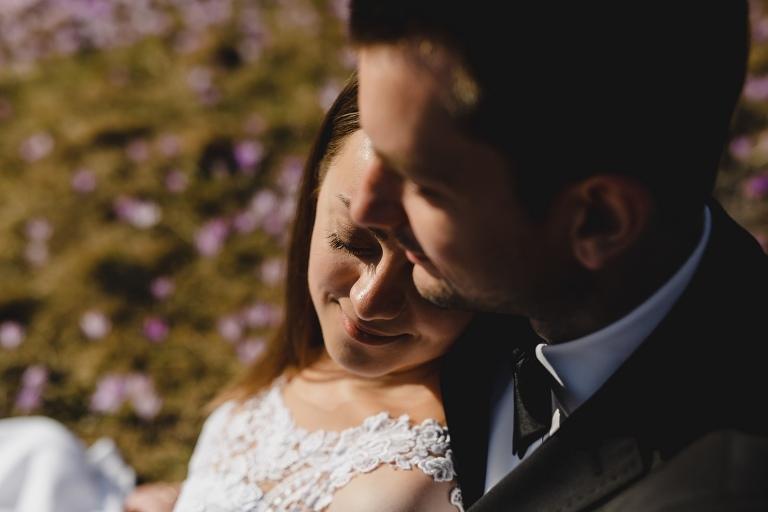 Natalia i Artur 291 krokusy, oryginalny plener ślubny, plener ślubny, sesja ślubna, sesja w tatrach
