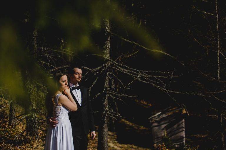 Natalia i Artur 345 krokusy, oryginalny plener ślubny, plener ślubny, sesja ślubna, sesja w tatrach