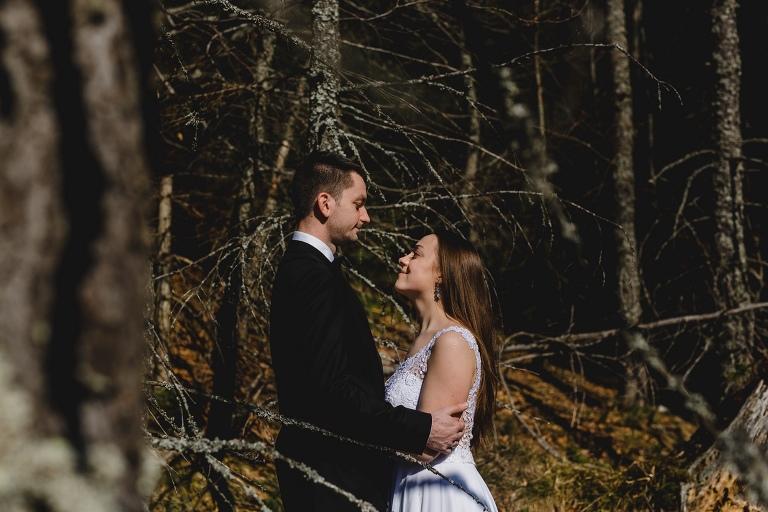 Natalia i Artur 349 krokusy, oryginalny plener ślubny, plener ślubny, sesja ślubna, sesja w tatrach