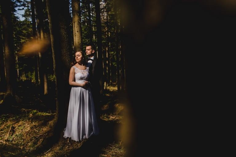 Natalia i Artur 363 krokusy, oryginalny plener ślubny, plener ślubny, sesja ślubna, sesja w tatrach