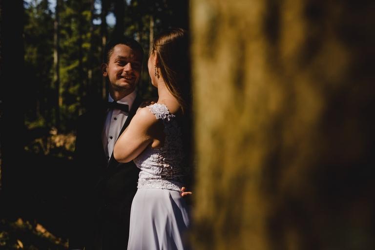 Natalia i Artur 365 krokusy, oryginalny plener ślubny, plener ślubny, sesja ślubna, sesja w tatrach