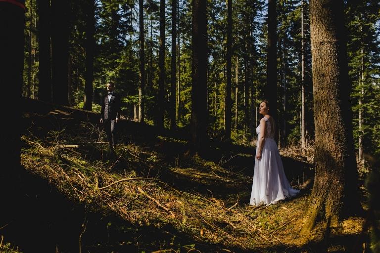 Natalia i Artur 373 krokusy, oryginalny plener ślubny, plener ślubny, sesja ślubna, sesja w tatrach