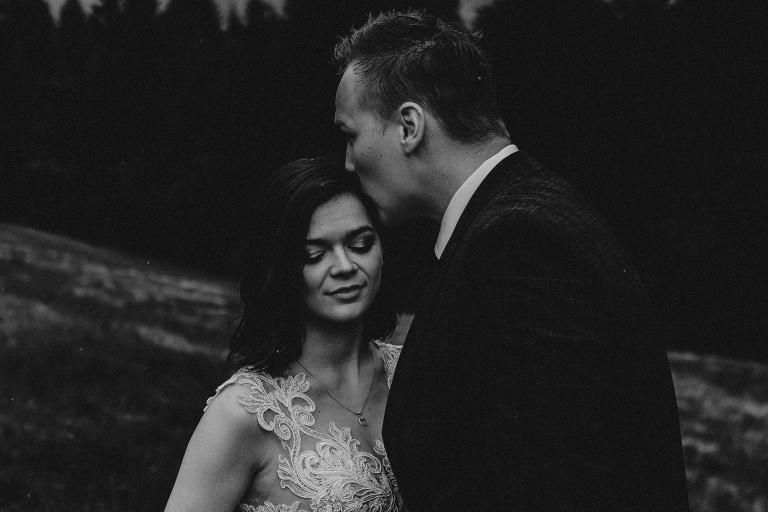 Ania i Adam | Kiedy w górach pada deszcz | Sesja ślubna 23