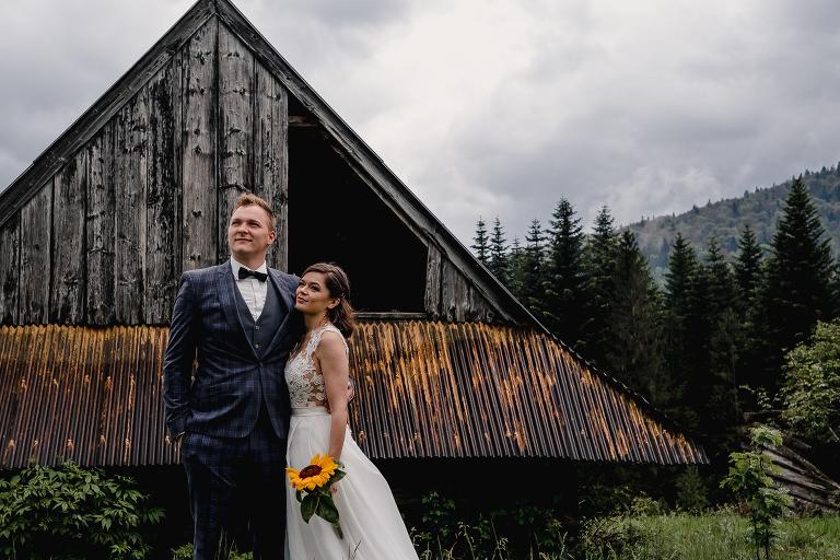 Ania i Adam | Kiedy w górach pada deszcz | Sesja ślubna 17