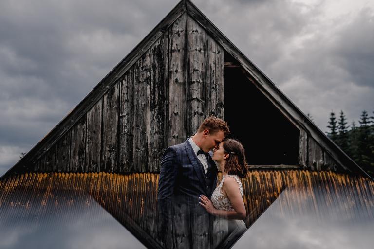 Ania i Adam | Kiedy w górach pada deszcz | Sesja ślubna 19