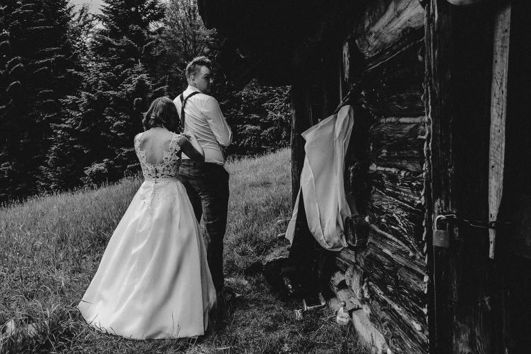 Ania i Adam | Kiedy w górach pada deszcz | Sesja ślubna 3