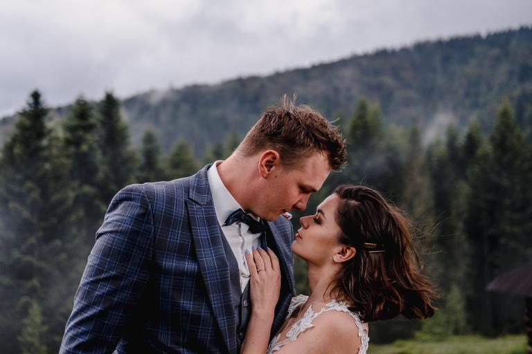 Ania i Adam | Kiedy w górach pada deszcz | Sesja ślubna 47
