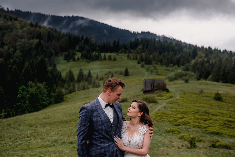 Ania i Adam | Kiedy w górach pada deszcz | Sesja ślubna 41