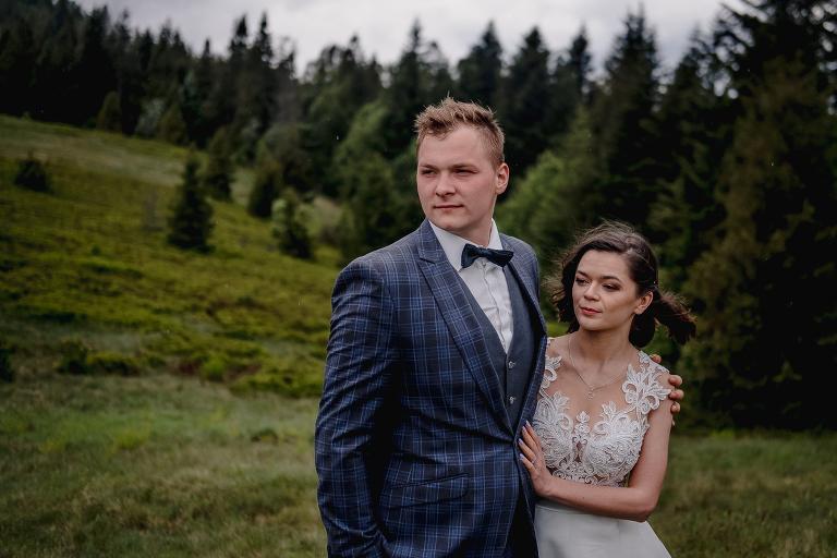 Ania i Adam | Kiedy w górach pada deszcz | Sesja ślubna 51