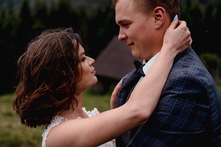 Ania i Adam | Kiedy w górach pada deszcz | Sesja ślubna 73