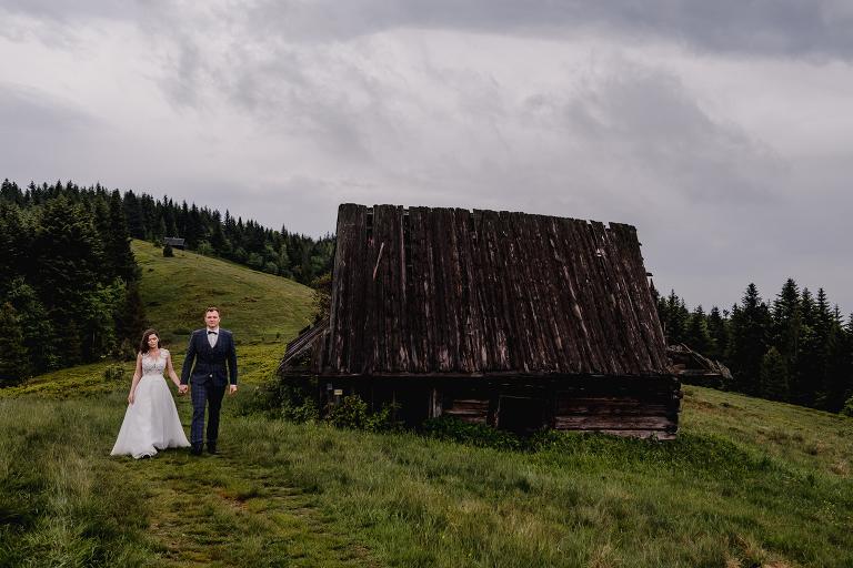Ania i Adam | Kiedy w górach pada deszcz | Sesja ślubna 65