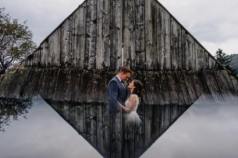 Ania i Adam | Kiedy w górach pada deszcz | Sesja ślubna 63