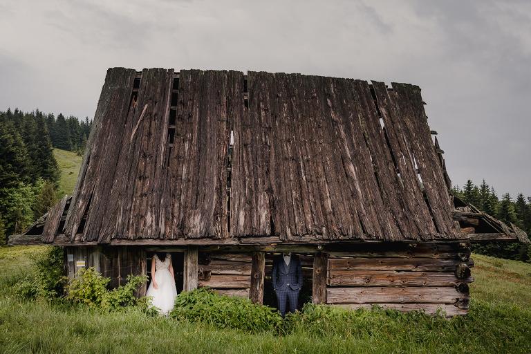 Ania i Adam | Kiedy w górach pada deszcz | Sesja ślubna 67