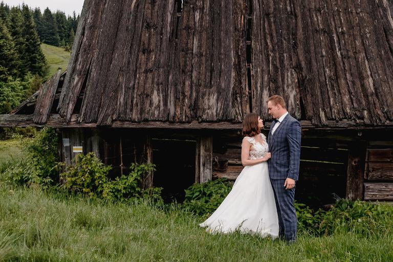 Ania i Adam | Kiedy w górach pada deszcz | Sesja ślubna 71