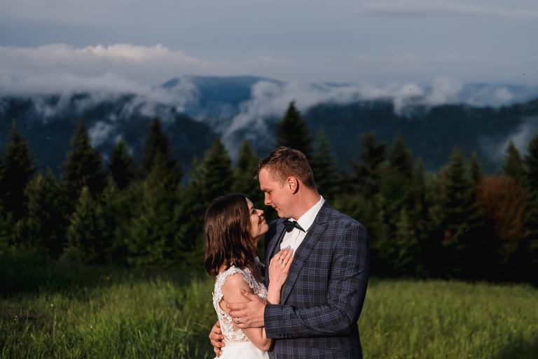 Ania i Adam | Kiedy w górach pada deszcz | Sesja ślubna 7