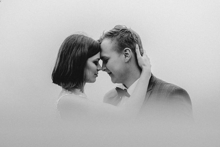Ania i Adam | Kiedy w górach pada deszcz | Sesja ślubna 85