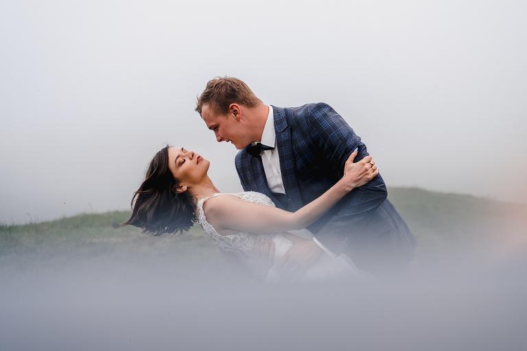 Ania i Adam | Kiedy w górach pada deszcz | Sesja ślubna 87