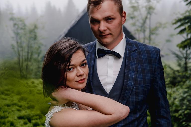 Ania i Adam | Kiedy w górach pada deszcz | Sesja ślubna 91